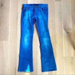 MISS SIXTY Oprah Medium Wash Kick Flare Jeans 27